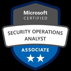Microsoft Security Analyst Associate Badge