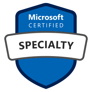 Microsoft Certified Specialty Certification Badge